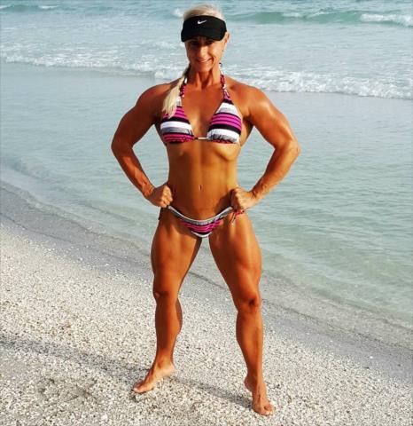 Pof female bodybuilding